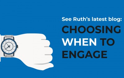 Choosing 'when' to engage people