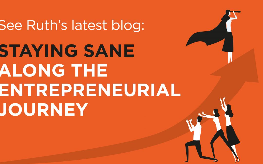 Staying sane along the entrepreneurial journey