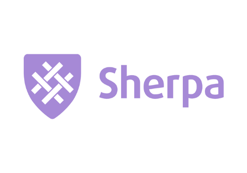 Sherpa Insurtech Logo Being On Point Ruth Saunders